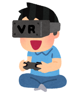 VRを遊ぶ人
